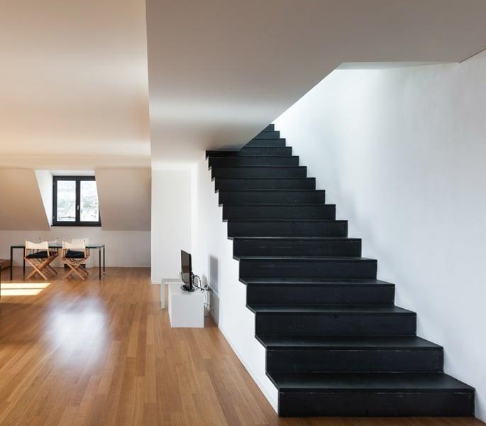 Betonnen trap bekleden alle materialen op een rijtje - Hoe om te schilderen een trap ...