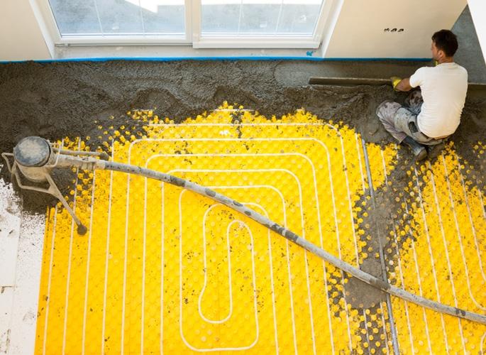 Vloerverwarming bij renovatie  Tips en aandachtspunten