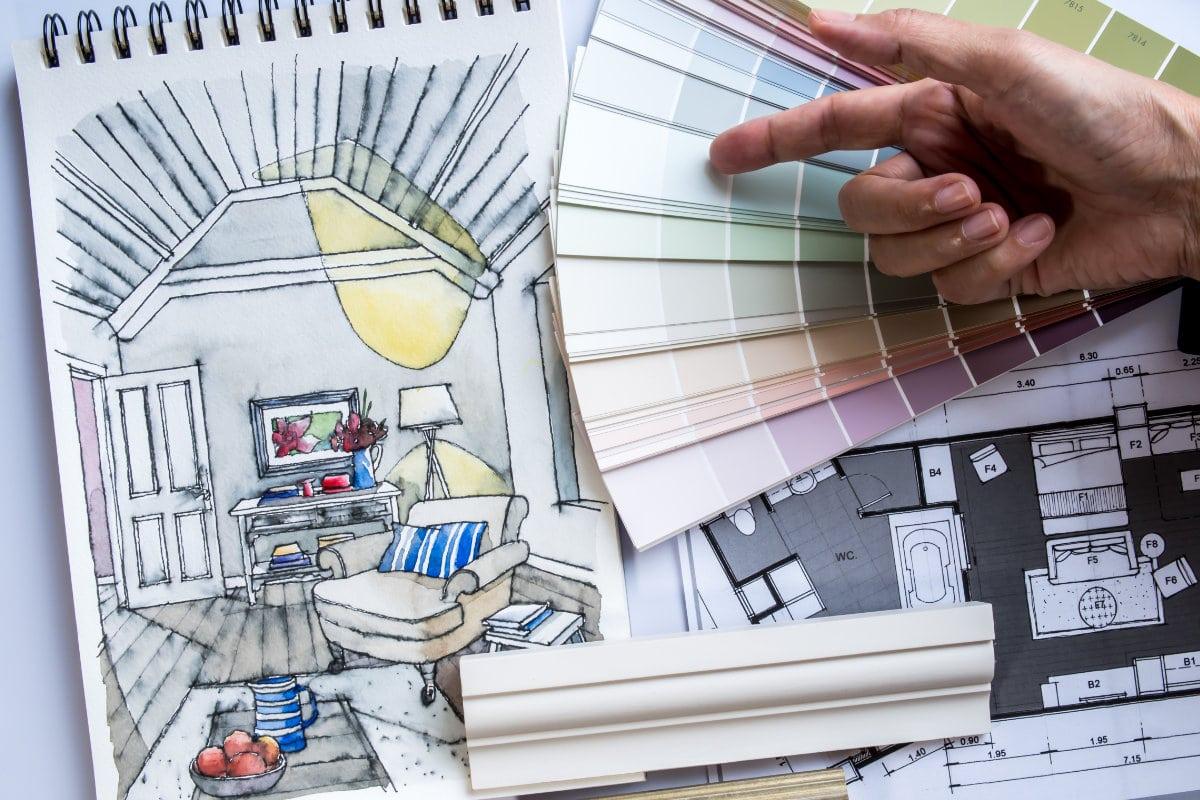 ontwerp interieurarchitect