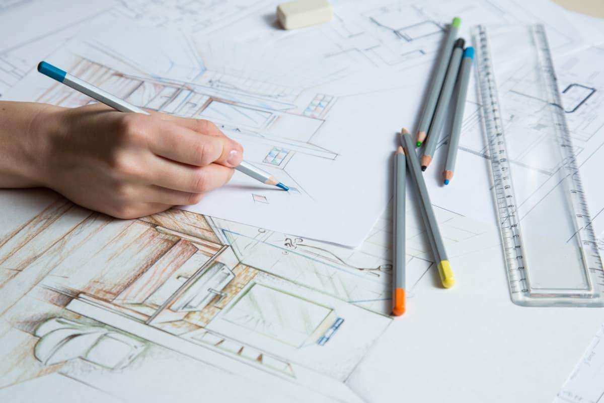 ontwerpfasen interieurarchitect
